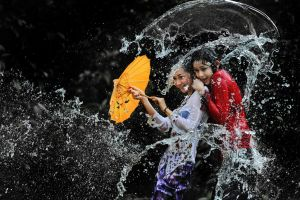 Splashing Fun - 50 by SAMLIM