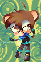 Commission: Chibi Chris by MayomiCCz