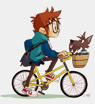To the Library! by underwhelmist