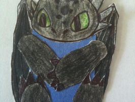 Toothless bookmark by Wolphon-jlm