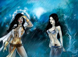 Candice vs Siphon by roxaralu