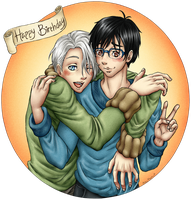 Happy Birthday Yuuri by Aldric-Cheylan