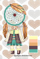 Adopt: Dream catcher Girl - Auction [OPEN] by Squitopus