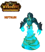 WoW Cataclysm Neptulon by atagene