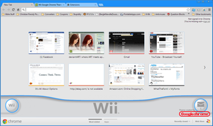 Wii Google Chrome Theme by J-Lindo