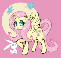 Fluttershy by Natachouille