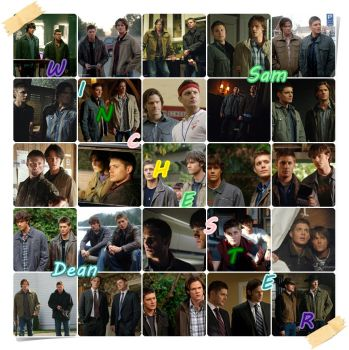 Winchester collage by SaHiRaXiKiTa