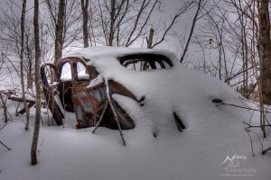 HDR Winter Wreck 3 by Nebey