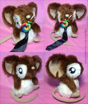 Transformice. Plush. Bicolor fur by krikdushi