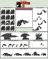 HTTYD Base 87~Nightfury Creator~ by Xbox-DS-Gameboy