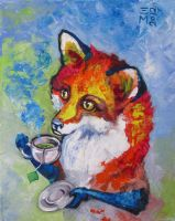 Tea Fox by ellemrcs
