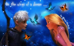 On the wings of a dream by Venus-Mike-Adel-Leo