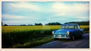 63 VW 1500 Notchback by ljungh