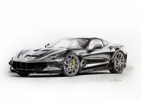 Corvette ZR1 by Mipo-Design