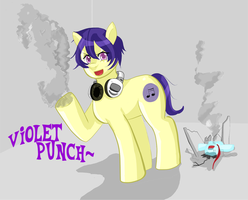 Violet Paunch by VioletVanillaFilly