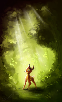 Bambi by Martith