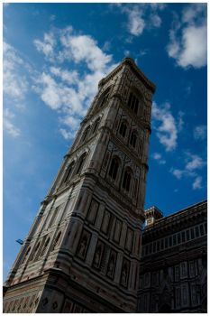 Duomo Bell Tower by OldFashionedCowboy