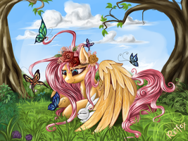 Fluttershy - is the best pony by DaffyDream