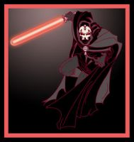 Star wars Darth Nihilus by ibentmywookiee