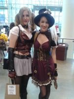 Harley and steampunk by TalekJames