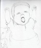 baby boys 1st birthday 01/10/2011 to01/10/2012 by Angels-Pixie-D