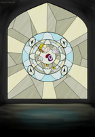 Stained Glass Window by PsychoTeensie