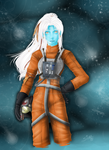 Ferroan Pilot - Star Wars by RiaStarchild