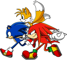 Team Sonic by Tails19950