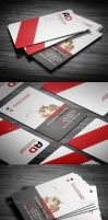 Professional Corporate Business Card by calwincalwin
