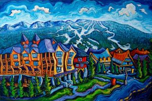 Whistler Village by Laurazee