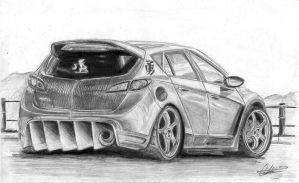 by bartu design Mazda 3 by can1996