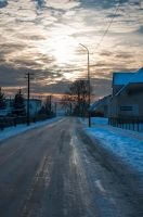 Sky of the winter. by M1C3k