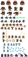 Morris169's remade sprites by coyotepack