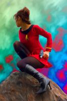 Trippy Trek for a Redshirt by Warriorpoet2006