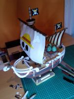 Going Merry Papercraft by exce55ive