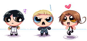 APH: Powerpuff Axis by Metallikato