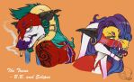 The Twins by vixengal01
