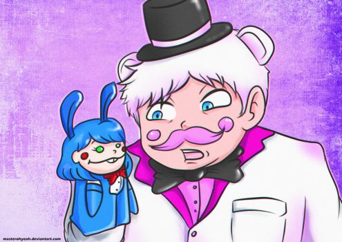 Funtime Freddy Humanized by MasterOhYeah