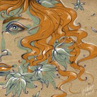 Ophelia by Alkven