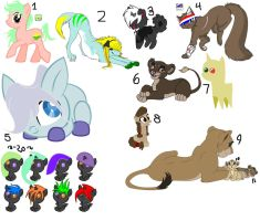 Labor Day FREE Adopts by 12girlwithadream