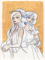 White witches by Dedasaur
