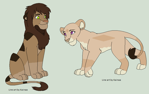 Lion Adopts - Closed by OMGeek-Adopts
