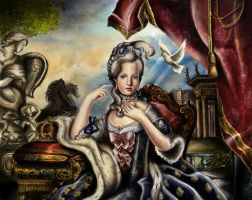 Marie Antoinette by Artist-in-Despair