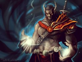 Dargor The Shadowlord - Rhasody of Fire by juliodelrio