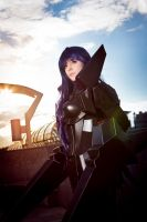 Kuroyukihime / Black Lotus -The Accelerated World by KandaDream