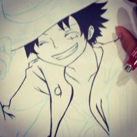 Luffy O 3 O by Mochappuccino