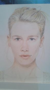 Claudia Schiffer (2015) by LaGelfling