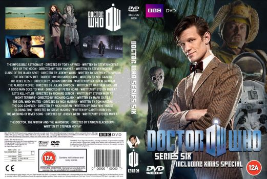 Doctor Who Series 6 DVD Cover (Custom B) by OliverGeary