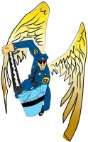 St. Michael color vector by EvlD
