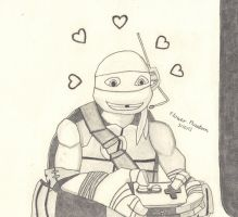 2012 TMNT She's So Beautiful by FlowerPhantom